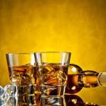 alkohol z lodem