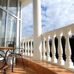 ładny balkon